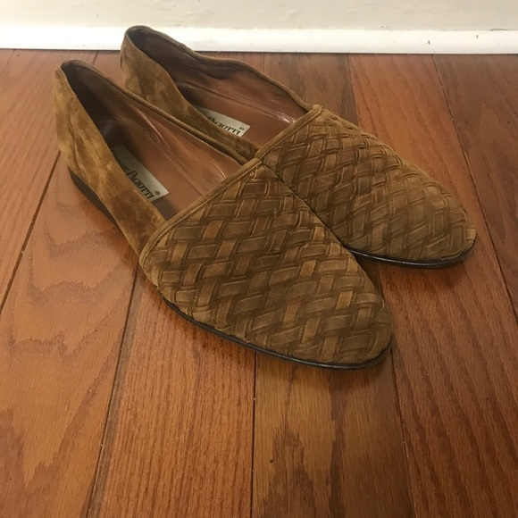 Cesare Paciotti brown VTG loafers size 9